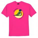 Australian native animal t shirt - Rebel Rainbow  Lorikeet