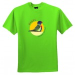 Australian native animal t shirt - Rebel Rainbow  Lorikeet